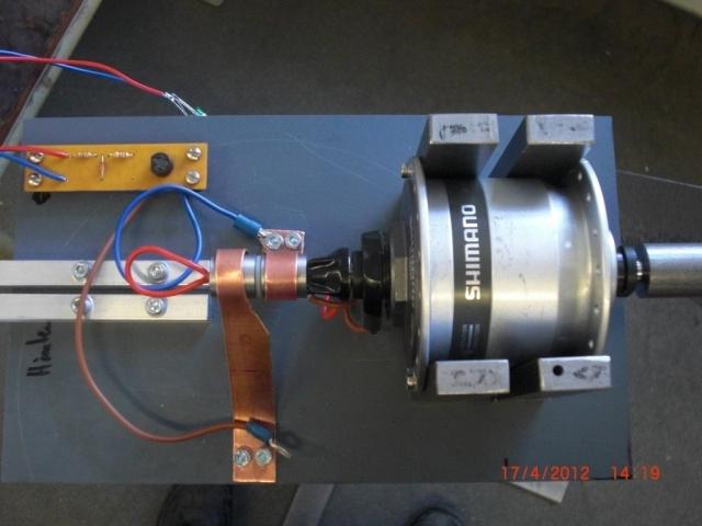 Generator kleinwindanlagen