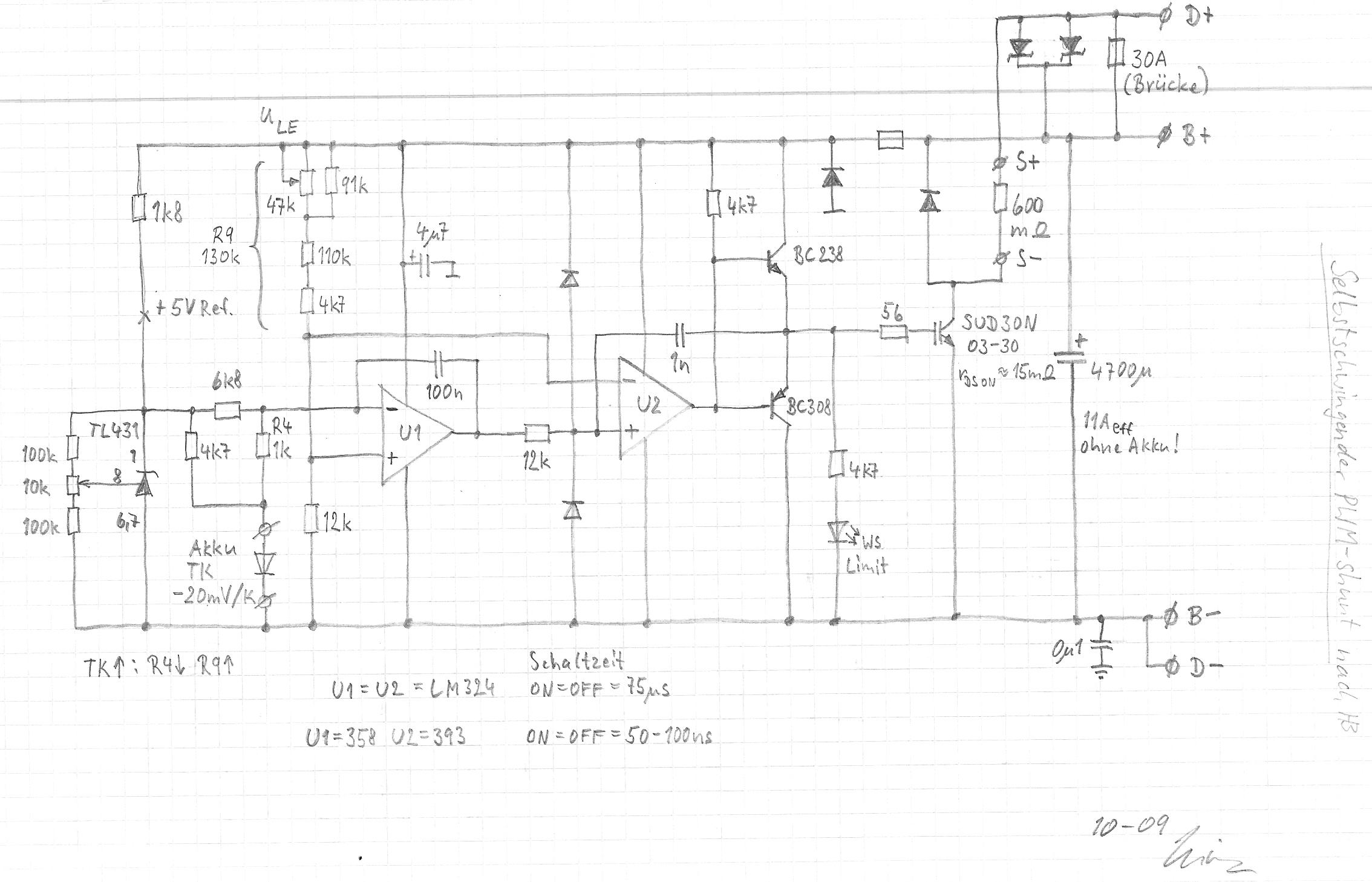 PWM-shunt-Regler für 12V Bleiakku • www.kleinwindanlagen.de