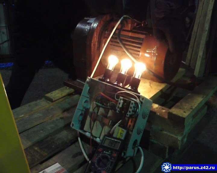 Асинхронный двигатель генератор видео